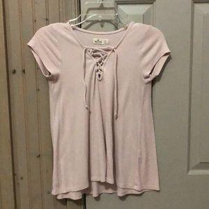 Hollister Cross Front Shirt